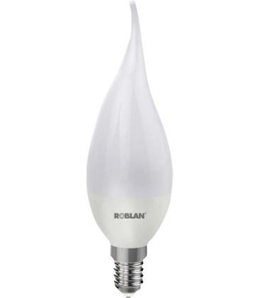 Bombilla LED FLAMA CANDLE casquillo E14 Potencia 5W de ROBLAN