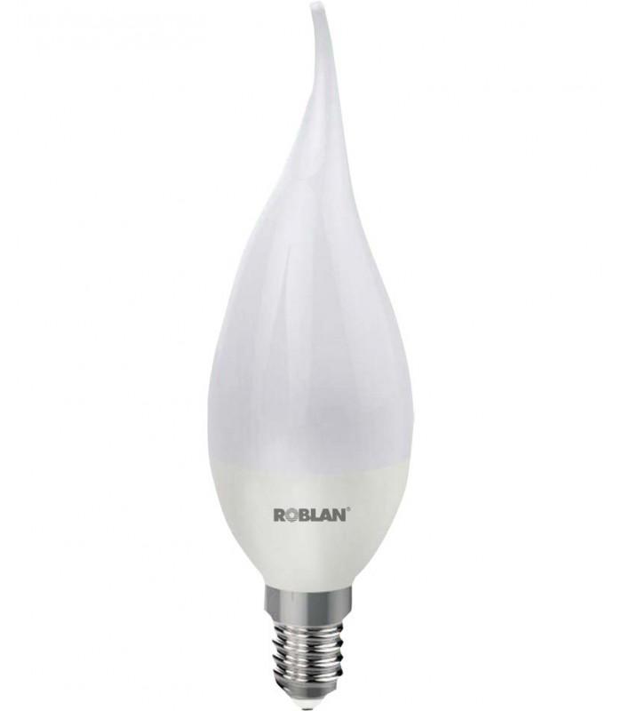 Bombilla led vela flama candle e14 potencia 5w de roblan for Bombillas led de vela
