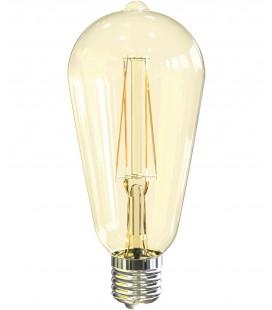 Connexion de 4W LED ST64 Vintage E27 Roblan
