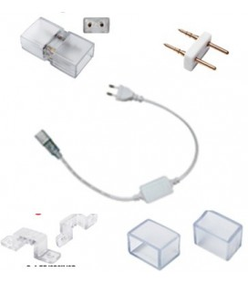 Connection kit for strip white or blue LED 220V