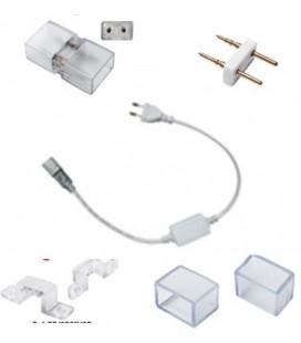 Kit de raccordement pour bandeaux de LED blanc ou bleu-220V