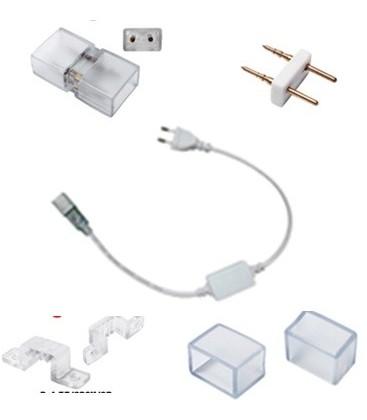 Connection kit for strip white or blue LED 220V