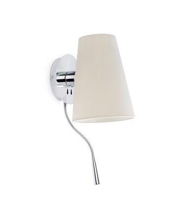 Aplique LUPE con lector LED de Faro