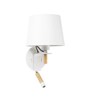 Aplique FUSTA con lector LED de Faro