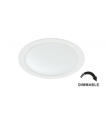 NOI 14W BLANCO 220V 100º DIMMABLE LED by Beneito Faure