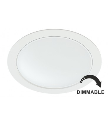 AIR 22W 220V blanc 100 ° DIMMABLE LED Benito Faure