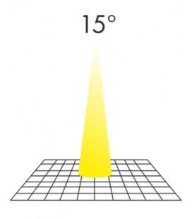 MR16 7W 12V 15º LED de Beneito Faure
