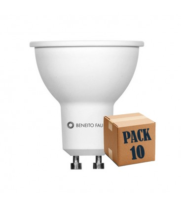 PACK of 10 SYSTEM GU10/MR16 8W 220V 60º LED Beneito Faure