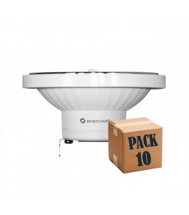 PACK DE 10 LYNK AR111 13W G53/GU10 45º LED de Beneito Faure