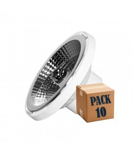PACK of 10 DOLE AR111 15W 220V 45º Beneito Faure LED GU10