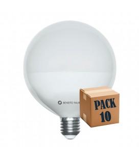 PACK de 10 ballon 22W E27 220V 360 ° LED Beneito Faure