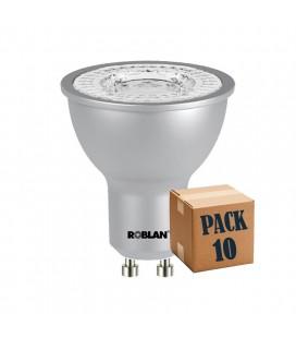 Pack de 10 dicroica LED ECO SKY 6W GU10 de Roblan