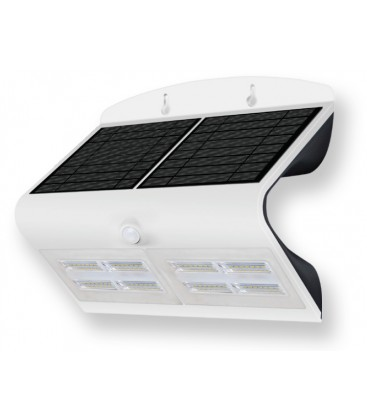 Aplique con panel solar LED 6.8W de Roblan
