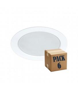 PACK de 6 NOI 14W blanc 220V 100e LED Beneito Faure
