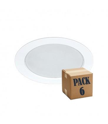 PACK of 6 NOI 14W white 220V 100th LED Beneito Faure