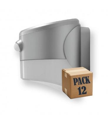 Pack de 12 aplique con panel solar CR LED 2W de Roblan