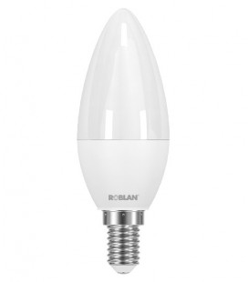 LED candle SKY C30 8W E14 by Roblan