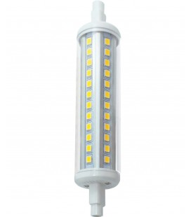 Lámpara LED R7S 118mm tubular 10W optica 360º de Roblan