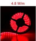 Rouge de LED bandeaux de 4,8 Watts/m. IP20 ou IP67 Roblan 12V