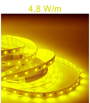 Tira LED 12V AMARILLA 4.8 W/m IP20/IP67 de Roblan
