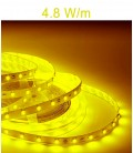 LED Strip colour yellow of 4.8 Watts/m. IP20 or IP67 Roblan 12V