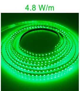 LED Strip green 4.8 Watts/m. IP20 or IP67 Roblan 12V