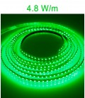 LED Strip green 4.8 Watts/m. IP20 or IP67 Roblan 12V