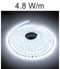 Blanc LED Strip de 4,8 Watts/m. IP20 ou IP67 Roblan 12V