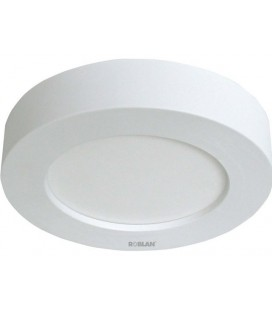 11W power Downlight LED round white surface model MOON of ROBLAN