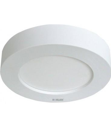 11W puissance LED Downlight rond blanc surface modèle lune de ROBLAN