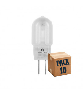 Pack de 10 G4 1,3W 12V 360º UNIFORM-LINE LED de Beneito Faure