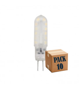 Pack de 10 G4 LONG 1,6W 12V 360º UNIFORM-LINE LED de Beneito Faure