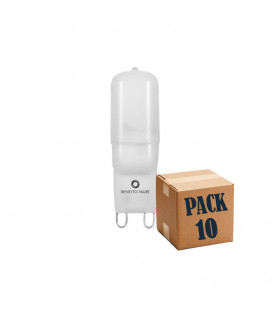 Pack de 10 G9 2,5W 220V 360º UNIFORM-LINE LED de Beneito Faure