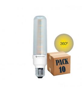 PACK 10 PL T40 10W E27 220V 360º LED de Beneito Faure