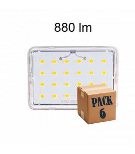 Pack de 6 LINEAL 9W R7S 78MM 220V 120º LED de Beneito Faure