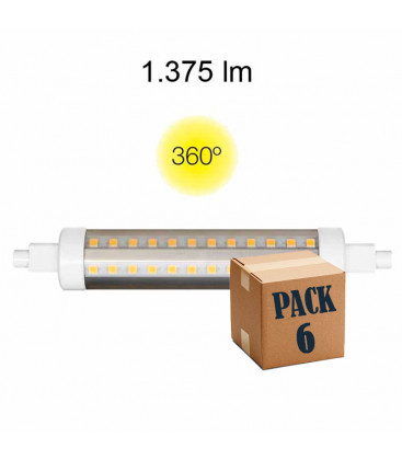 HQI TUBULAR 13W RX7S 138 MM 220V 360 ° LED of Beneito Faure