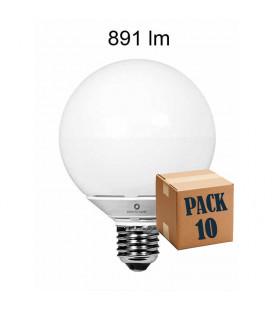 Pack de 10 GLOBO 10W E27 220V 360º LED de Beneito Faure