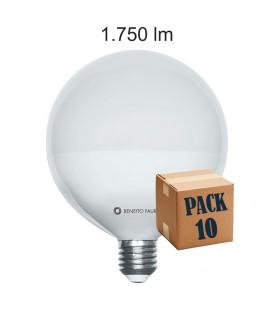 Pack de 10 GLOBO 16W E27 220V 360º LED de Beneito Faure