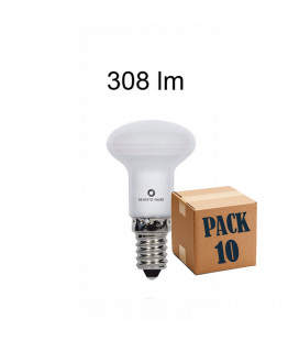 Pack 10 R-39 3W E14 220V 120º LED de Beneito y Faure