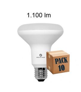 Pack de 10 R-90 12W E27 220V 120º R-LINE LED de Beneito Faure