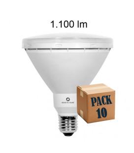 Pack de 10 PAR 38 15W E27 220V 30º R-LINE LED de Beneito Faure