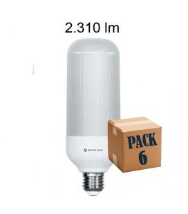 Pack 6 SIL 20W E27 220V 360º LED de Beneito Faure