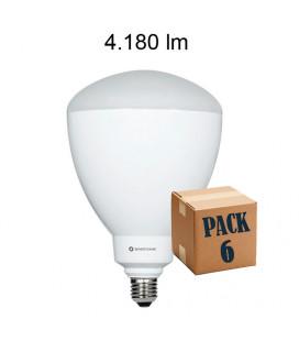 Pack de 6 CUP 45W E27/E40 220V 100º LED de Beneito Faure