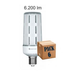 Pack 6 ARIA 50W E27/E40 220V 360º LED de Beneito Faure