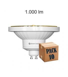 Pack 10 NITRO AR111 15W GU10 220V 45º LED de Beneito Faure