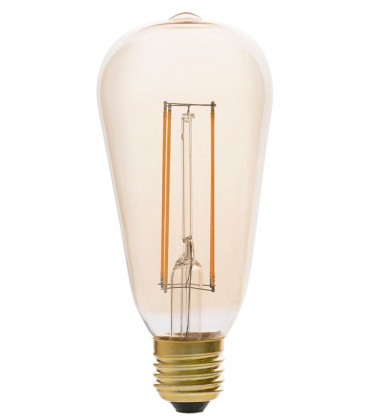 Pebetero LED con filamento liso 5W conexión E27 de Faro