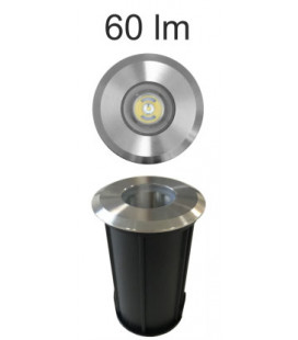 OPTIC INOX 2W 100-240V 35º LED BRIDGELUX de Beneito Faure
