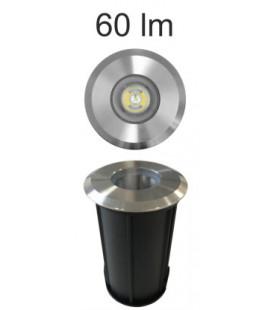 OPTIC INOX 2W 100-240V 35º LED de Beneito Faure