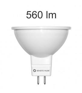 12V 120 ° UNIFORM A-line Beneito Faure LED 6W MR16