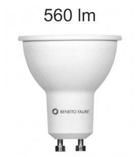 GU10 6W 220V 120º UNIFORM-LINE LED by Beneito Faure